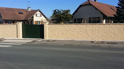 Murs De Cloture by Murs De Cloture Mur De Clture En Blocs Elco Coffrants