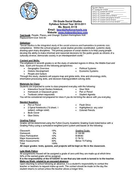 20 Best Social Studies Worksheets - 18 best images of 7 grade social studies worksheets 6th