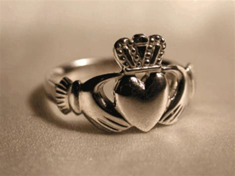 Wedding Ring Represents by The Traditional Claddagh Represents Loyalty