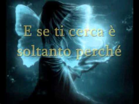 anima vola testo elisa l anima vola con testo