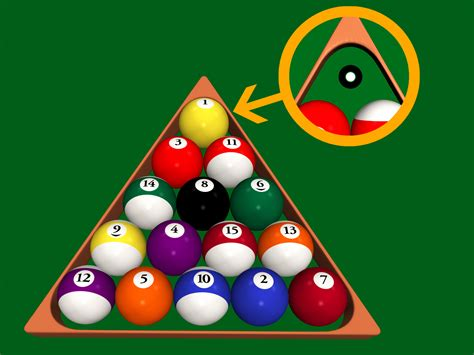 How Do U Rack Pool Balls how to rack in 8 7 steps with pictures wikihow