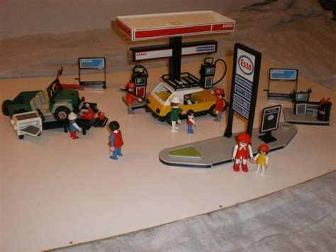 playmobil garage growing up in the 80 s