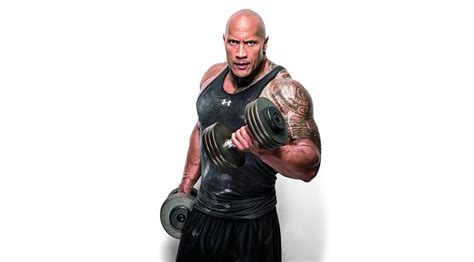 Dumbell Hercules Bull The Rock Posts Secret Team Hercules Arms Workout