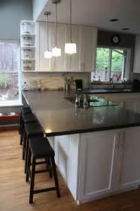 kitchen breakfast bar breakfast bar extend cabinet kitchen pinterest