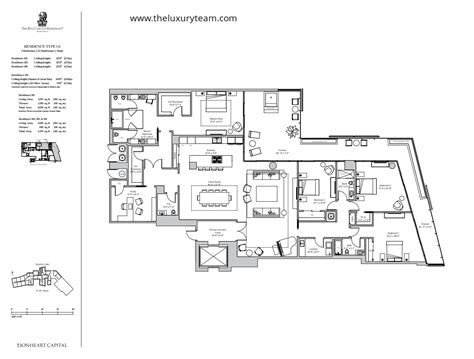 residences at the ritz carlton tucson floor plan ranch house model new condos at ritz carlton residences miami beach the