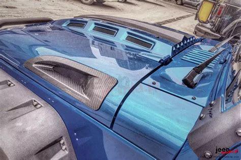 avenger hood extra vents jeep wrangler