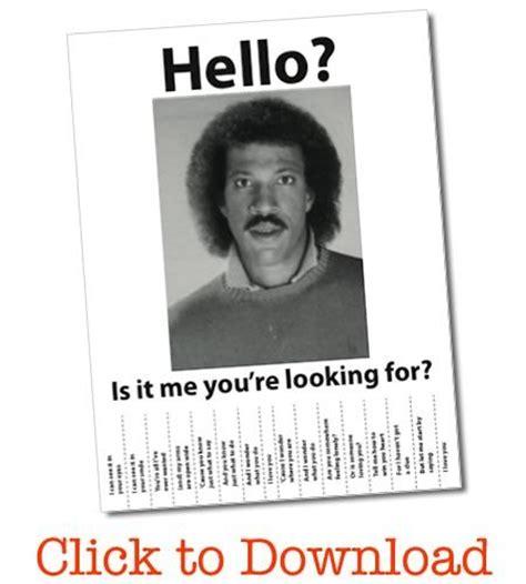 Lionel Richie Hello Meme - lionel richie wanted poster free pdf lionel richie