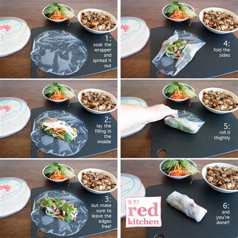 How To Fold Rice Paper Rolls - best 25 rolls ideas on