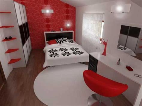 red black and white room louise black white and red decor