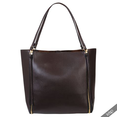 leather tote bag with zipper womens zipper tassel leather shopper hobo bag large tote shoulder handbag purse ebay
