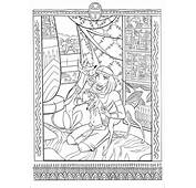 Ancient Egypt Mosaic Coloring Page  Download &amp Print