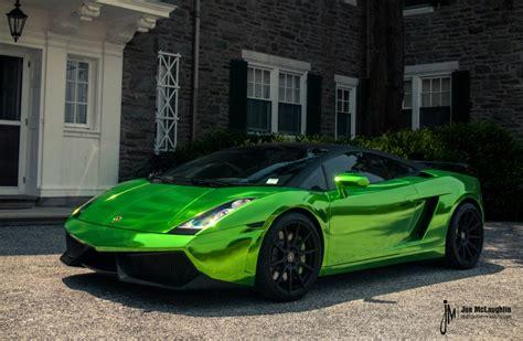 Lamborghini Gallardo Green Green Chrome Lamborghini Gallardo Autoevolution