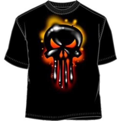 Kaos T Shirt The Punisher T Shirt graffity creator punisher graffiti t shir