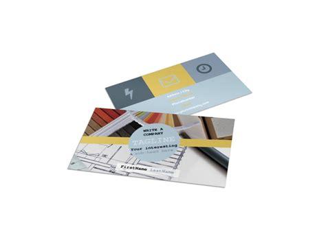 interior designer business card template mycreativeshop