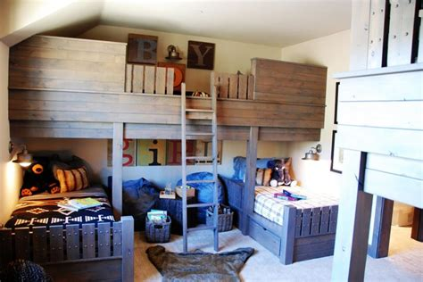 bunk bed porn cool bunk beds for the wee ones rooms pinterest