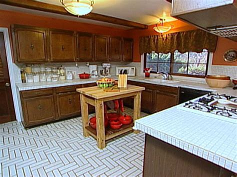 Butcher Block Top Kitchen Island tuscan style kitchen and dining area hgtv