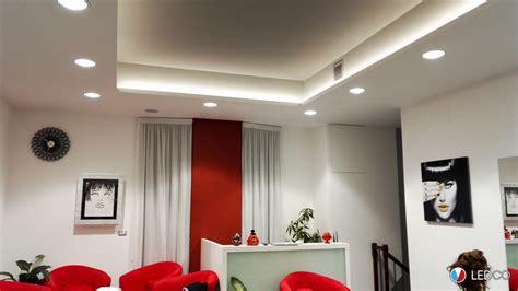 illuminazione salone illuminazione salone parrucchiere 2 bari ledco italia