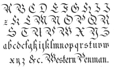 western tattoo lettering generator common types 187 copy and paste font generator free font