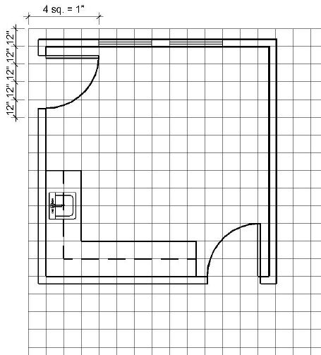 draw floor plan to scale furniture plans drawings