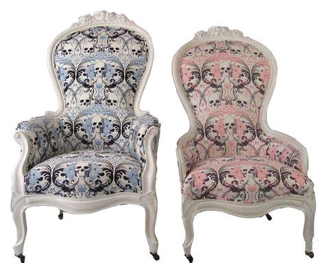 Victorian Modern Furniture king amp queen victorian skull chairs a pair chairish