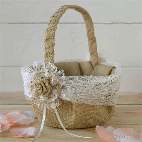 decorar cestas para bodas cesta r 250 stica de boda
