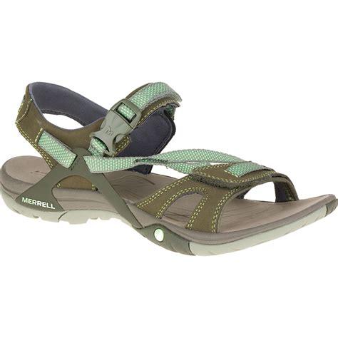 merrell hiking sandals merrell s azura hiking sandals medium green