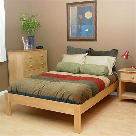 zen platform bed frame create ultra elegance of bedroom with a new collection of