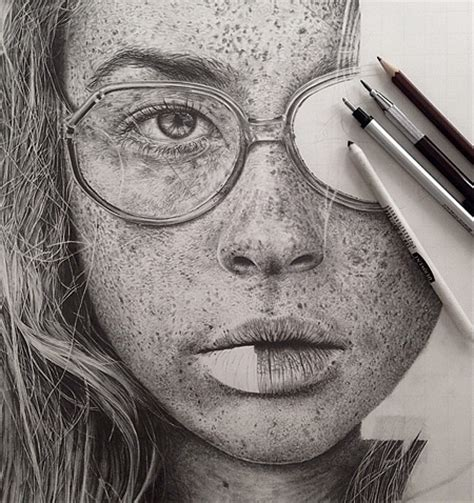 Sketches Realistic by Pencil Drawings By