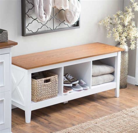 hallway bench hallway storage bench mission style entryway tree and