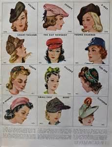 names of all the hair magazine mccalls needlework magazine 1942 1943 va voom vintage
