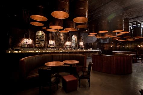 Dining Room Bar Furniture by Victoria Brown Steampunk Bar Gives Industrial Style A