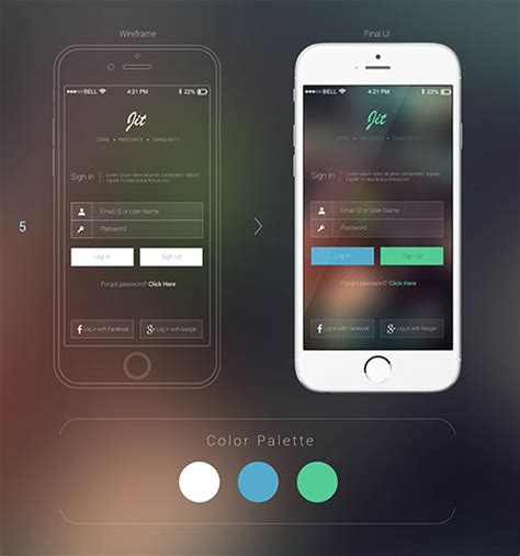 ui layout options web mobile ui ux designs for inspiration 83