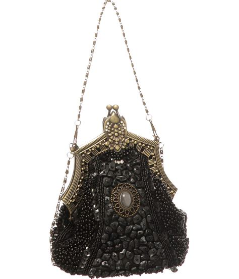 Purses Not Seen As A Clutch Performer by Purse Boutique Black Beaded Quot Quot Vintage Style