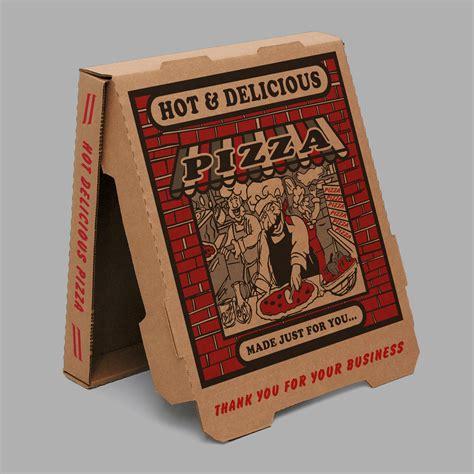 10 pizza box 10 quot brown brick b flute pizza box 50 ct pro edge