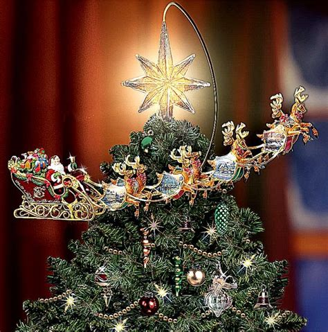 rotating christmas tree topper lit tree topper wallpapers background