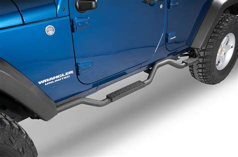Rage Side Steps Jeep Wrangler Rage Products 26628 2 Quot Slimline Step In Textured Black