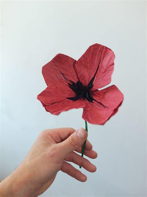 Origami Poppy Flower - poppy vigier poppy origami free diagrams