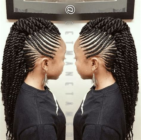 best hair to use for braided mohawk 6 ways to style box braids photos braids and style
