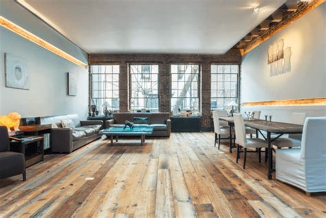 Reclaimed Wood Living Room by 15 Best Reclaimed Wood Flooring Designs Pictures