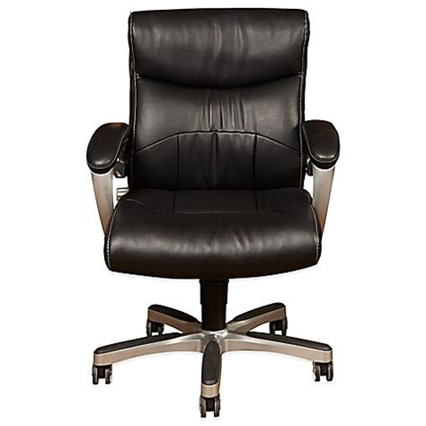 sealy office chair sealy 174 posturepedic fixed arm office chair in black