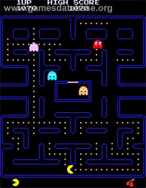 pac man arcade pac man arcade games database