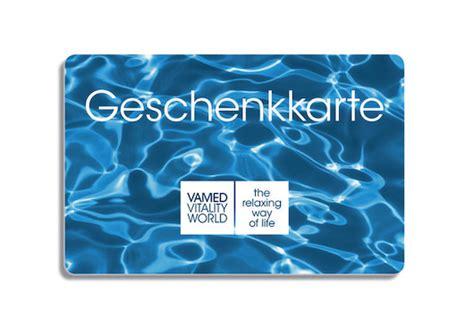 Martins Gift Cards - gift cards of vamed vitality world