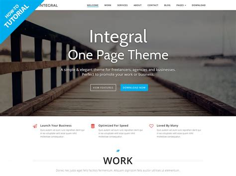 single page website tutorial wordpress tutorial how to build a one page wordpress site with
