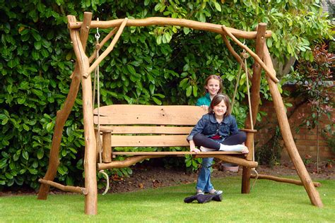 swinging benches for the garden nostalgic garden swing benches swing bench