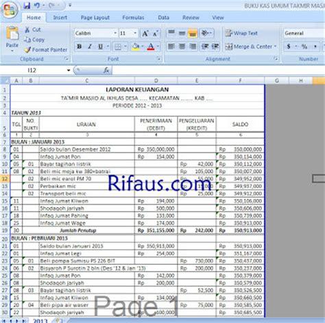 cara membuat laporan keuangan sederhana cara membuat laporan keuangan otomatis dengan microsoft
