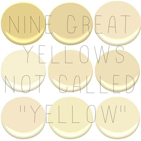 best yellow paint colors the best interior yellows