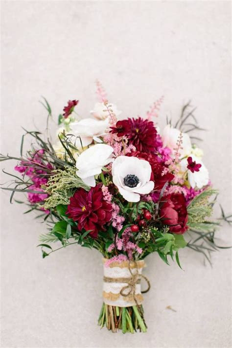 Pink Floral Wedding Angpao my bridal bouquet from clementine floral designs burgundy wine white and blush pink for a