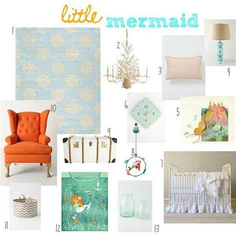 Mermaid Nursery Decor 17 Best Images About My Mermaid Themed Nursery On Pinterest Starfish Mermaids And