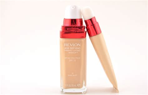 Bedak Revlon Age Defying new revlon age defying firming and lifting foundation and