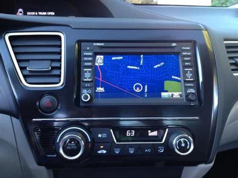 purchase   honda civic  sedan loaded navigation   camera xm radio sunroof
